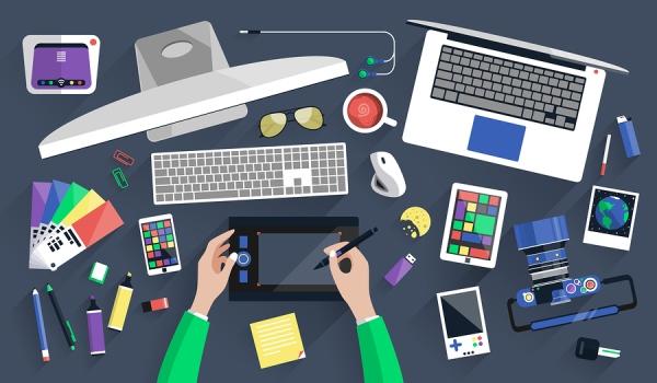 bigstock-workplace-of-a-designer-in-fla-