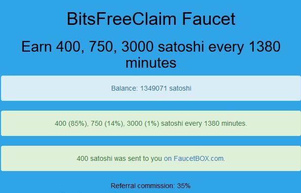 MotоBitcoin com от 5 сатоши до ,1 BTC в час Биткоин кран
