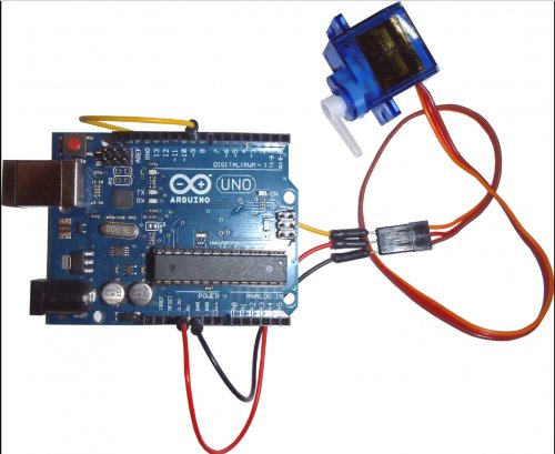 RC servo motor with labview :Doing my little part
