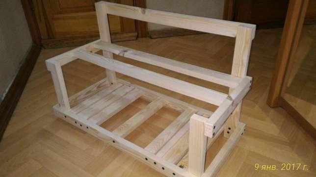 Как сделать каркас для фермы майнинга из дерева