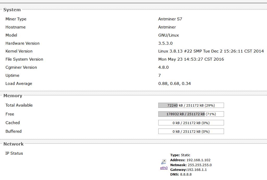 Взлом AntMiner S7 - Безопасность - Bitcoin Forum