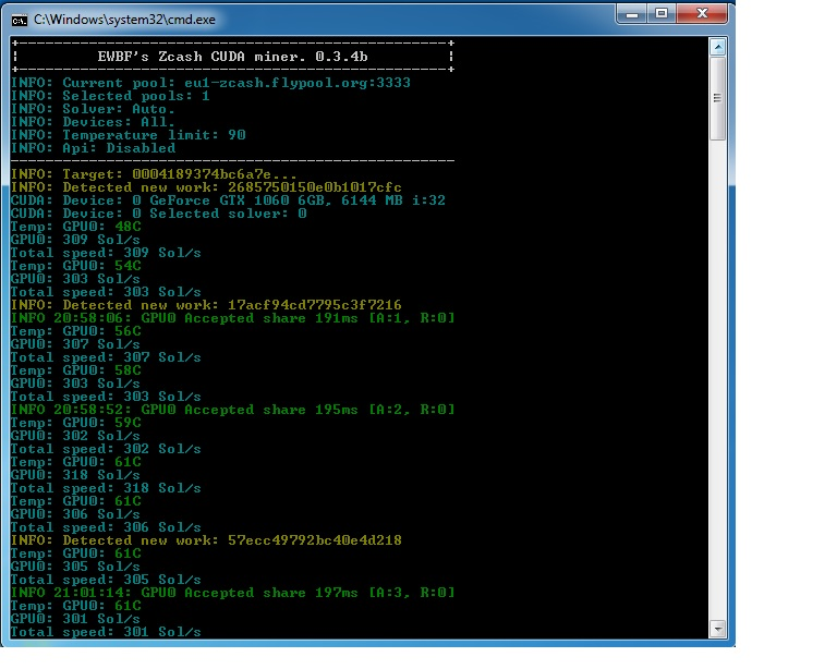 Zcash майнер для nvidia выдает ошибку дискавери про дата центры в сша