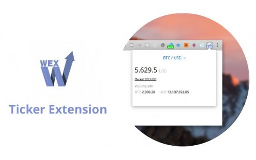 WEX.NZ Ticker extension for Chrome