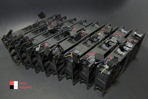 Обжим кабелей под разъемы Molex и вентиляторы PWM 4 пин