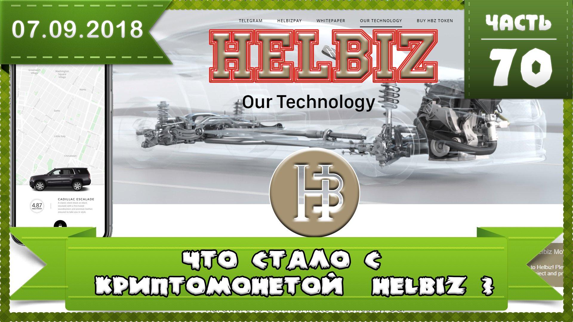 Что стало с монетой HELBIZ (HBZ) сейчас, влияние падения Bitcoin на 1000$, что ждать?